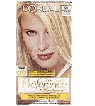 Recital Preference L'Oréal Paris Tinte nº 1 Natural 1 ud