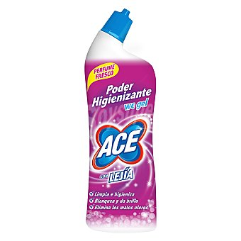 Ace Desinfectante WC gel con lejía perfumada poder higienizante botella 700 ml 700 ml