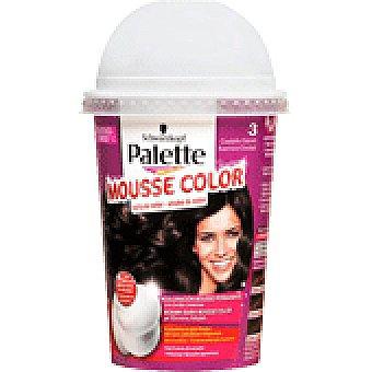 Palette Schwarzkopf Tinte 3 Mousse Color 1 UNI