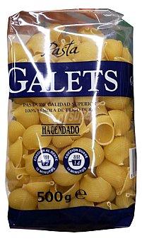 Hacendado Galets pasta Paquete 500 g