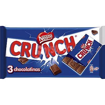 Crunch Nestlé Chocolatina 3u 40g