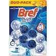 Limpiador wc poder activo azul Pack 2x50 g Bref WC