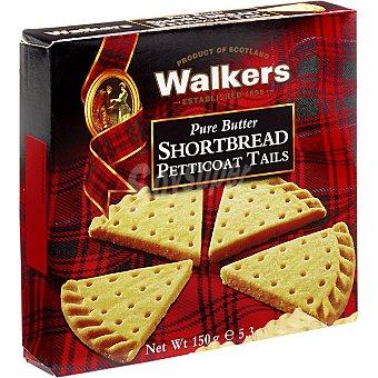 WALKERS Shortbread Petticoa Tails Galletas de mantequilla Estuche 150 g