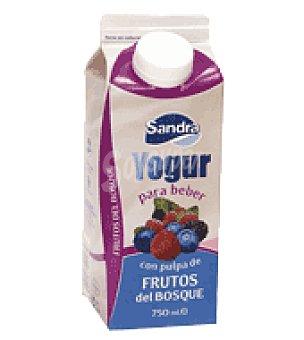 Sandra Yogur líquido con pulpa de frutos del bosque 750 g