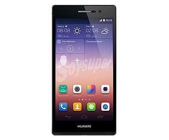 "Huawei ascend P7 Smartphone libre Negro, procesador: Quad Core 1.8GHz, Ram: 2Gb, almacenamiento: 16Gb ampliable mediante microsd, pantalla: 5.0"" 1920 x 1080px, cámara: 13Mp, conectividad 4G, gps, Wi-Fi, Bluetooth, nfc, Android 4.4,"