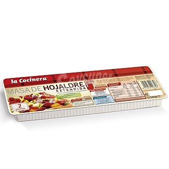La Cocinera Masa de hojaldre extendida Paquete 500 g
