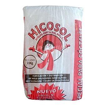 HICOSOL Hielo con escamas 2 kg
