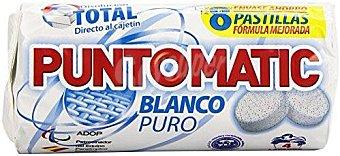 Puntomatic Detergente blanco Caja 8 pastillas (4 dosis)