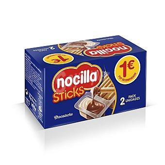Nocilla Sticks chocoleche Pack 2 unidades 35 gr