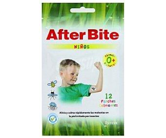 Esteve After Bite Parches calmantes Niños, alivia y calma rápidamente las molestias en la piel irritada por insectos 12 Unidades
