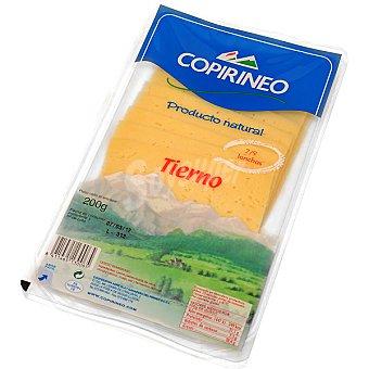 Copirineo Queso tierno en lonchas Bandeja 200 g
