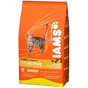 IAMS PROACTIVE NUTRITION ADULT Alimento completo para gato adulto con pollo Bolsa 1,5 kg