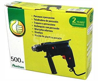 Productos Económicos Alcampo Taladro percutor de 500 Watios con diámetro máximo de 13 milímetros 1 unidad