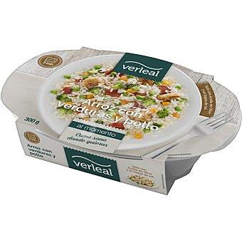 VERLEAL Arroz con verduras y pollo Envase 300 g
