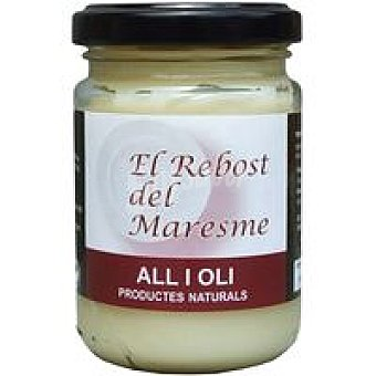 EL REBOST Del MARESME Salsa all i oli Tarro 140 g