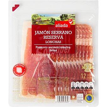 Aliada Jamón serrano en lonchas Envase 200 g