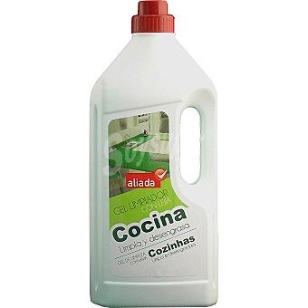 Aliada Limpiador gel con lejía para cocinas Botella 1,5 l
