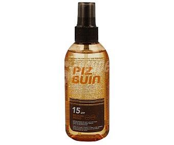 PIZ BUIN Spray solar corporal transparente con factor proteccón 15 150 mililitros