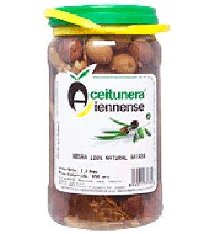 Aceitunera Jiennense Aceituna negra rayada 650 g