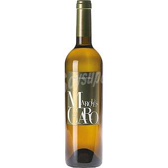 MARQUES DE CARO Vino blanco seco merseguera y moscatel de Valencia Botella 75 cl