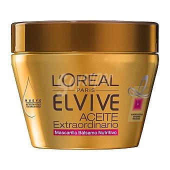 Elvive L'Oréal Paris Aceite extra mascarilla nutritiva para el pelo Bote 300 ml