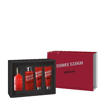 Enrique Iglesias Estuche colonia ADRENALINE spray 100 ml. + desodorante 150 ml. + aftershave 75 ml. + gel 75 ml.  1 ud
