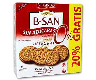 Virginias Galletas integrales sin azúcares añadidos, con edulcorantes, baja en sal, sin huevo y sin lactosa 576 gramos