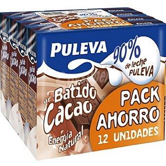 Puleva Batido de cacao Pack 12 envases 200 ml