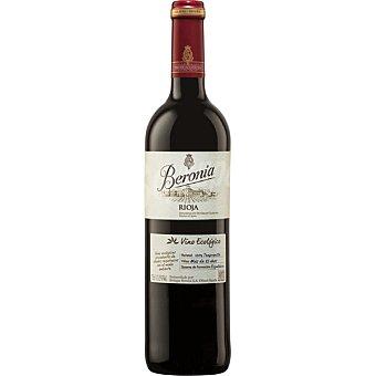 Beronia Vino tinto tempranillo ecológico D.O. Rioja Botella 75 cl