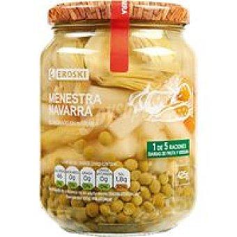 Eroski Menestra de verduras de Navarra Frasco 425 g