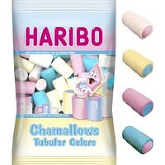 Haribo Chamallows Tubular Colors Bolsa 250 g