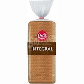 Ortiz Pan de molde integral Paquete 480 g