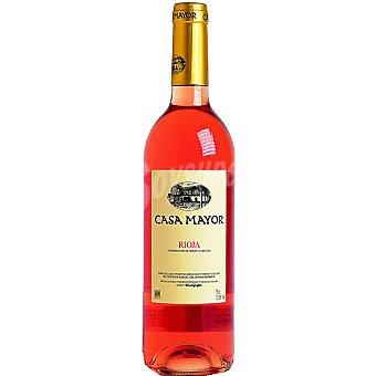 CasaMayor Vino rosado D.O. Rioja elaborado para grupo El Corte Inglés Botella 75 cl