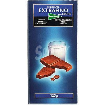 El Corte Inglés Chocolate con leche extrafino Tableta 125 g