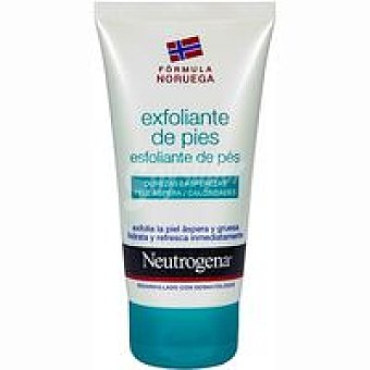 Neutrogena Crema exfoliante de pies Tubo 75 ml