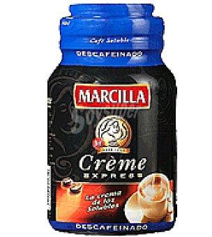 Marcilla Café soluble descafeinado Créme Express 100 g
