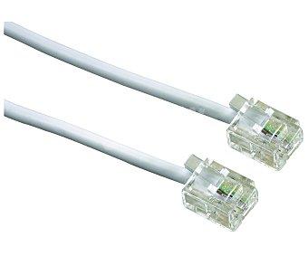 SELECLINE Cable de teléfono (producto económico alcampo) RJ11, longitud 10 metros,
