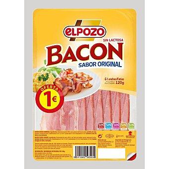 ElPozo Bacon ahumado en lonchas Sobre 120 g
