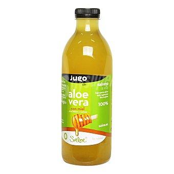 Saloe Jugo de aloe vera ecológico Saloe Naturae con miel Botella 1 l