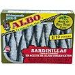 Sardinilla en aceite de oliva virgen lata 105 g Albo