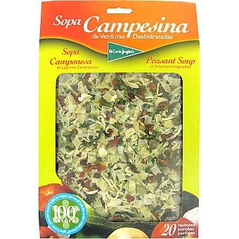 El Corte Inglés Sopa campesina deshidratada Estuche 200 g