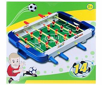 Productos Económicos Alcampo Mini-Futbolín de Plástico de 24 Centímetros alcampo