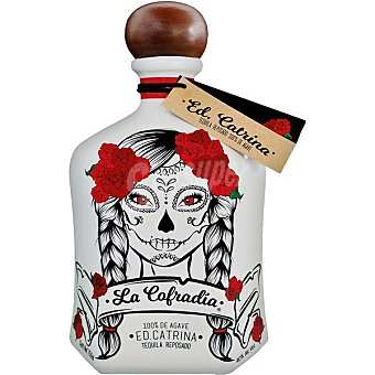 La cofradia Tequila reposado100% Agave Ed. Catrina Botella 70 cl