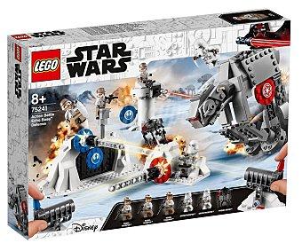 LEGO Star Wars 75241 Juego de construcción Action Battle: Defensa de la Base Eco con 504 piezas, Star Wars 75241 lego.