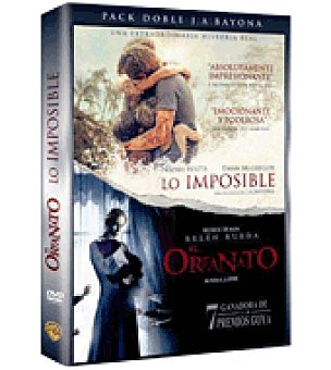 Pack El Orfanato + Lo Imposible DVD