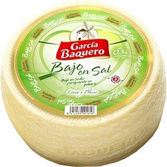 Garcia Baquero Queso tierno bajo en sal peso aproximado pieza 3