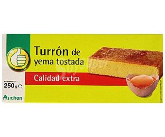 Productos Económicos Alcampo Turrón de yema tostada 300 gramos