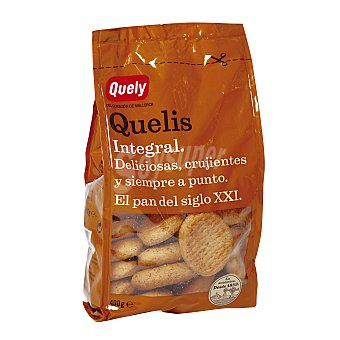 Quely Pan tostado quelis integral Paquete 400 g