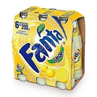 Fanta Refresco de limón Pack 6x20 cl