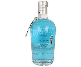 5 th FIRE Water Ginebra premium inglesa tipo London dry gin Botella de 70 centilitros